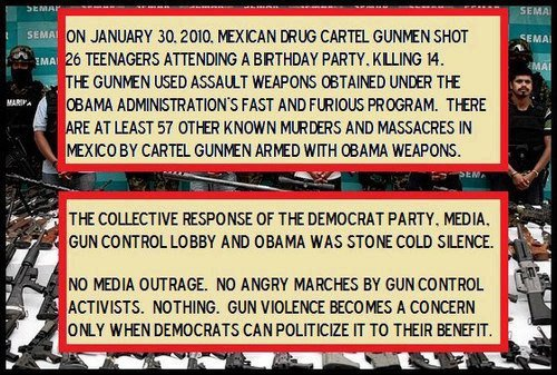 100s of Mexicans killed by Obama's Fast & Furious